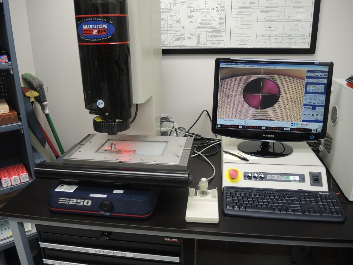 Vision System Ogp Smartscope 250 Zip Oakdale Precision