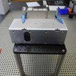 We made custom standoffs and breadboards to ensure rigid fixturing and easy access to measuring features