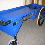 Cart shown in extended position