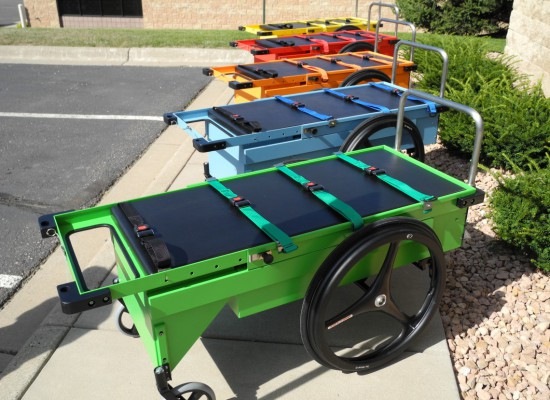 Several color carts were produced, they became known as the crayola carts
