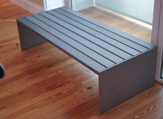 "custom bench for a museum, see ""engineering"" past projects for more information on this"