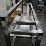 welded frame, 16W x 24H x 78L
